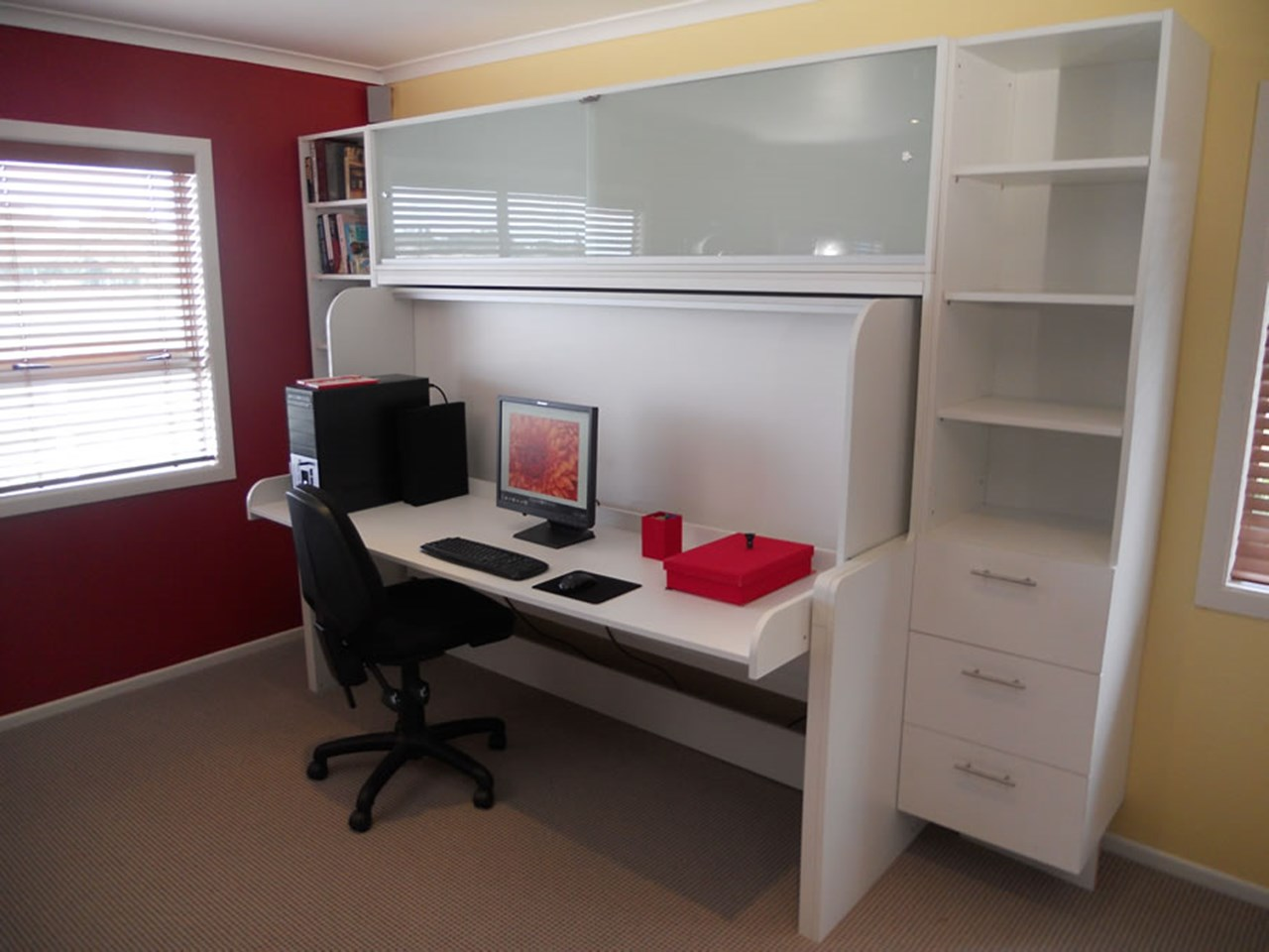 Design Hidden Bed hidden bed barrett joinery ltd timaru desk 1 jpg